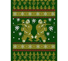 PAINTBALL UGLY CHRISTMAS SWEATER Photographic Print