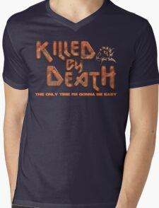 Motorhead Killed By Death Heavy Metal Mens V-Neck T-Shirt