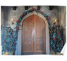 Christmas at the Castle (doors) Poster