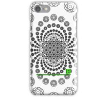 Crop Circle Metatron Vortex 22 IPHONE - Oct 2012 iPhone Case/Skin