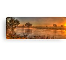 Watercolours - Junee, NSW Australia - The HDR Experience Canvas Print