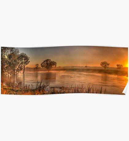 Watercolours - Junee, NSW Australia - The HDR Experience Poster