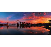 Sunrise at Blackwattle Bay - Panorama Photographic Print