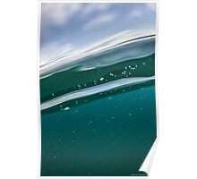 Abstract in the water Poster