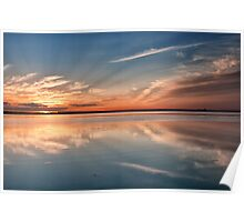Sunset from the Point Poster