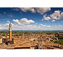Siena & Beyond Photographic Print