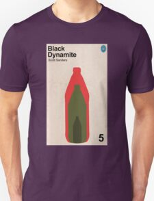 Black Dynamite Retro Book Cover Unisex T-Shirt