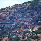 A hillside town near Delphi by Jamie Alexander