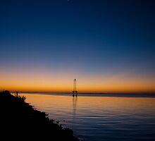 Dawn over Pensacola Bay by matt1960