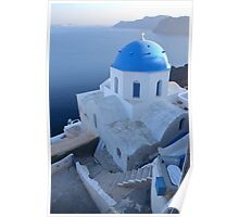 View over Oia Poster