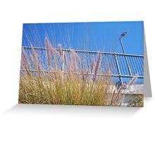 Train Wheat One Greeting Card