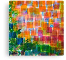 Magnified Detail of a Blossom Canvas Print