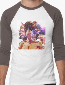 Girl On Fire Men's Baseball ¾ T-Shirt