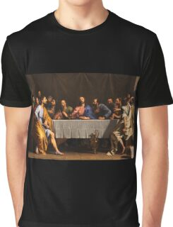The Last Supper by Philippe de Champaigne (1648) Graphic T-Shirt