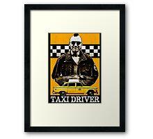 Taxi Driver Travis Bickle New York Design Framed Print