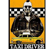 Taxi Driver Travis Bickle New York Design Photographic Print