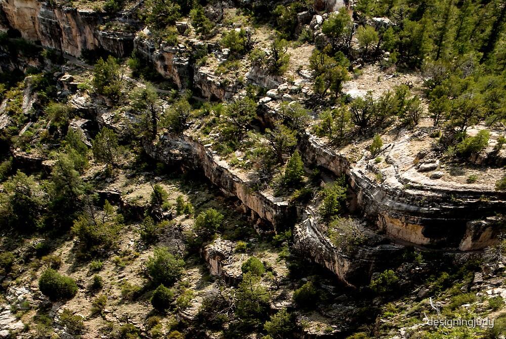 Canyon Dwelling Below by designingjudy