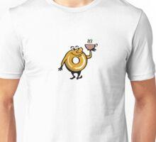 Slocum's Joe Mascot - Coffee and Donuts - Fallout 4 Unisex T-Shirt