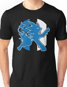 Detroit Luxray No Text (Pokemon Sports Mashup) Unisex T-Shirt