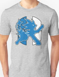 Detroit Luxray No Text (Pokemon Sports Mashup) T-Shirt