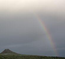Mount Städjan With Rainbow by ArtOfE