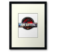 ARK JURASSIC EVOLVED Framed Print