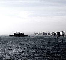 West Pier, Brighton by copacic