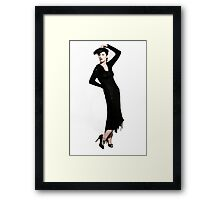 Hollywood Glam 2 Framed Print