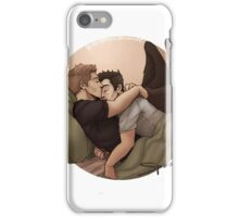 Snuggling - Destiel iPhone Case/Skin