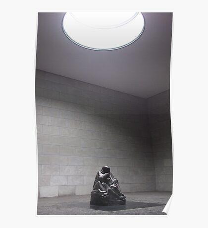 Memorial Berlin Statue Poster