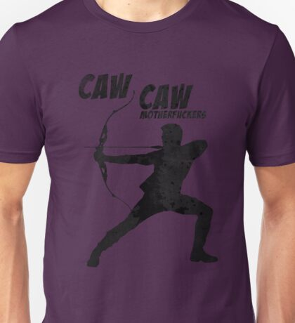 CAW CAW, MOTHERF*CKERS Unisex T-Shirt