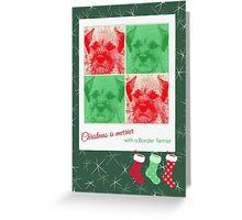 Christmas is merrier Greeting Card