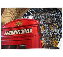 London Telephone Box Poster