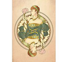 Queen Noveau Photographic Print