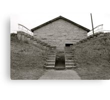 Powder Magazine - Historic Fort Wayne Canvas Print