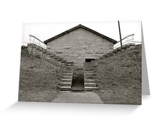 Powder Magazine - Historic Fort Wayne Greeting Card