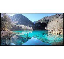 Jiuzhaigou national park in China Photographic Print