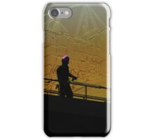 Hamburg Harbour - Tollerort Container Terminal iPhone Case/Skin