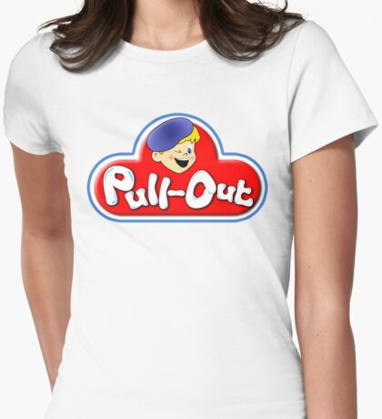 Pull-Out Womens Fitted T-Shirt