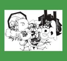 Bored doodle art  One Piece - Short Sleeve
