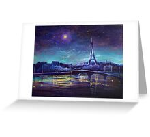 The Lights of Paris Greeting Card