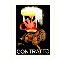 Famous champagne vintage ad Leonetto Cappiello Art Print