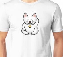A fat maneki neko waving Unisex T-Shirt