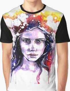 Colorful girl Graphic T-Shirt