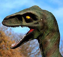 Prehistoric Dinosaur by Larry Trupp