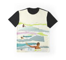 Sun and Surf Graphic T-Shirt