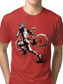 Cyclocross mud Tri-blend T-Shirt