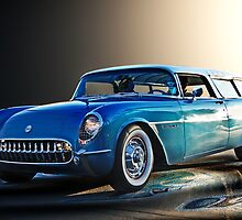 54 Nomad Vette by WildBillPho