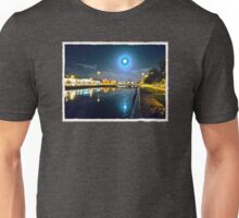 Moonlit night on Merchant´s Quay 003 Unisex T-Shirt