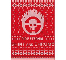 Mad Max Ugly Sweater Design Photographic Print